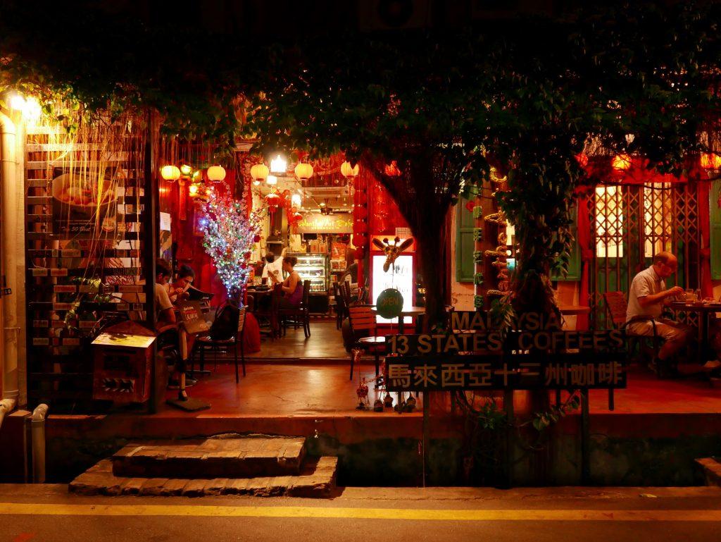 Calanthe Art Cafe, 13 Estates, Melaka, Malaysia, outside
