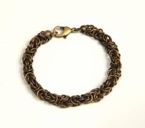 MollyOHaganBrass Byzantine Bracelet